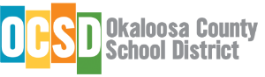 Okaloosa County School District logo