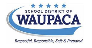 School District of Waupaca logo
