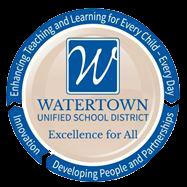Watertown Unified School District logo