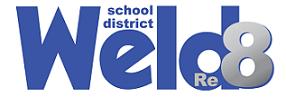 Weld County School District Re-8 logo