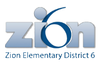 Zion Elementary District 6 logo